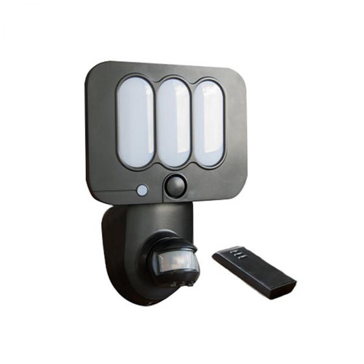 Chromex Projecteur sécurité avec alarme sonore - 600 lumens