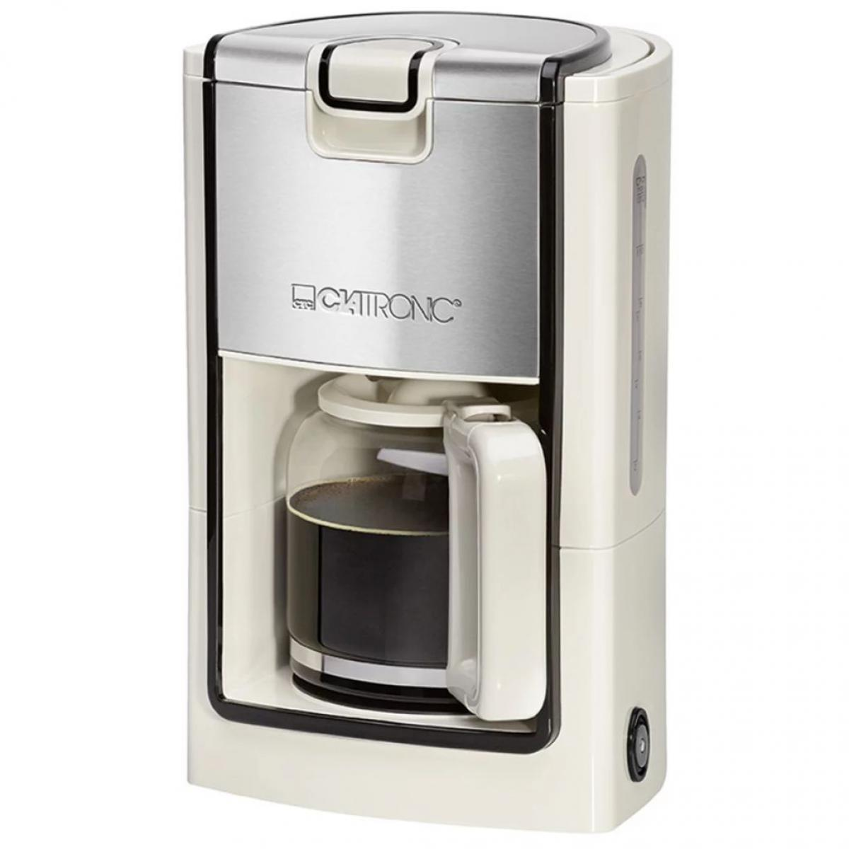 Clatronic Clatronic Machine à café KA 3558 crème-inox