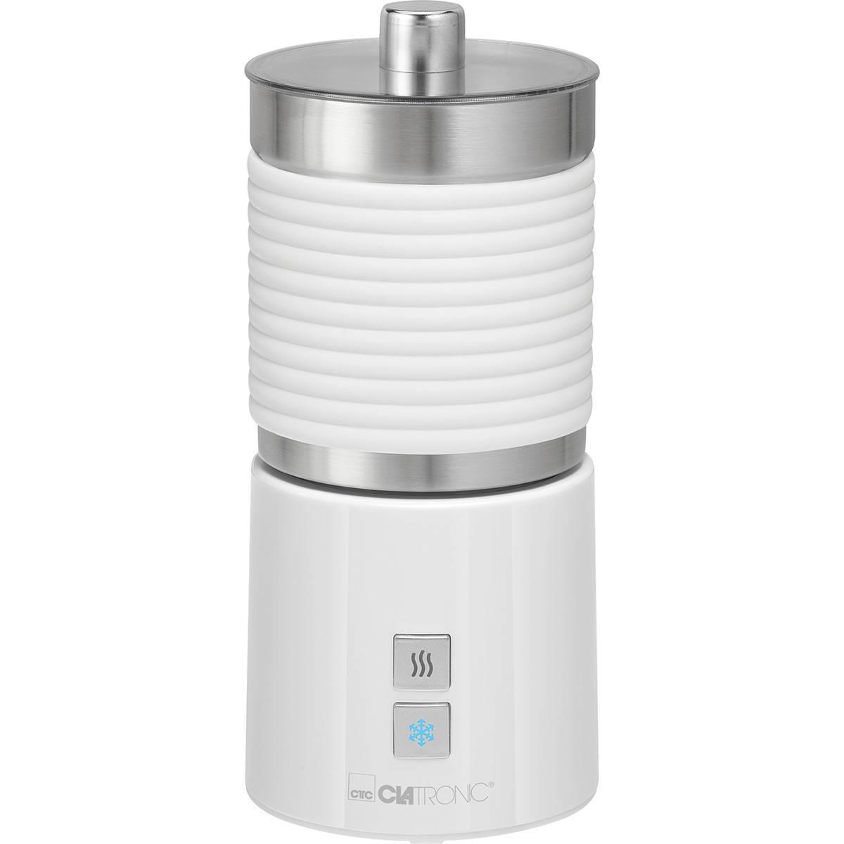 Clatronic Mousseur à lait électrique Chaude et Froide ou Lait Chauffan 700ml Clatronic MS 3654