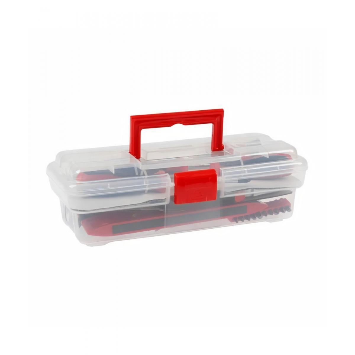 Cogex COGEX Boite de 48 outils complet - Boîte transparente