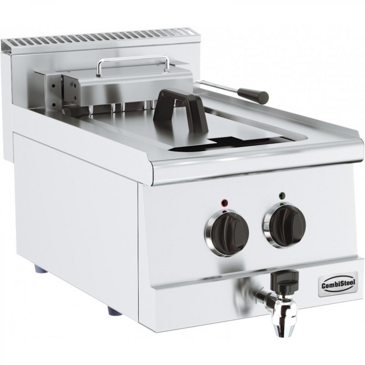 Combisteel Friteuse Professionnelle Electrique 10 ou 20 Litres - Série 600 - Combisteel - 400x600