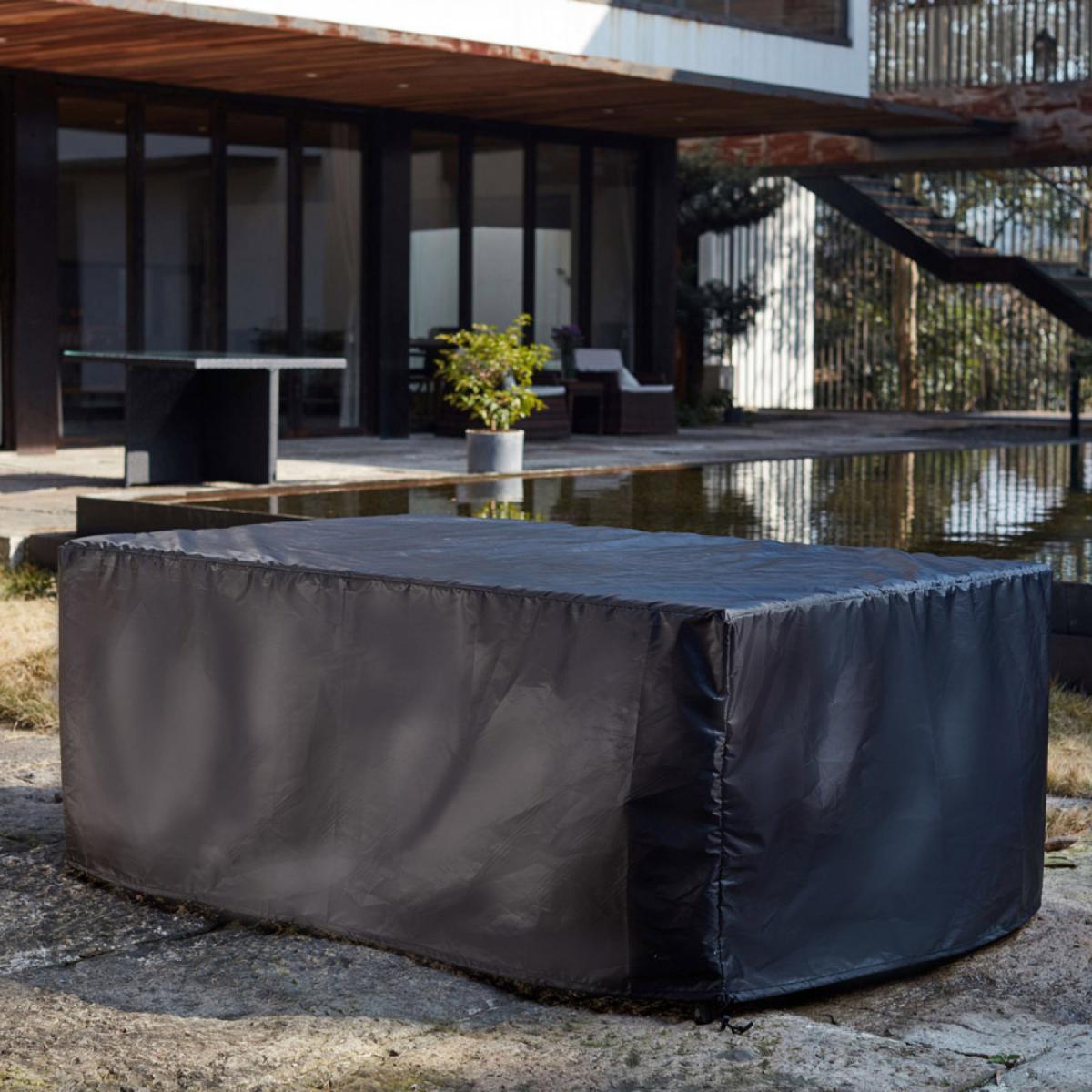 Concept Usine Housse de salon de jardin résine Florida 8 places
