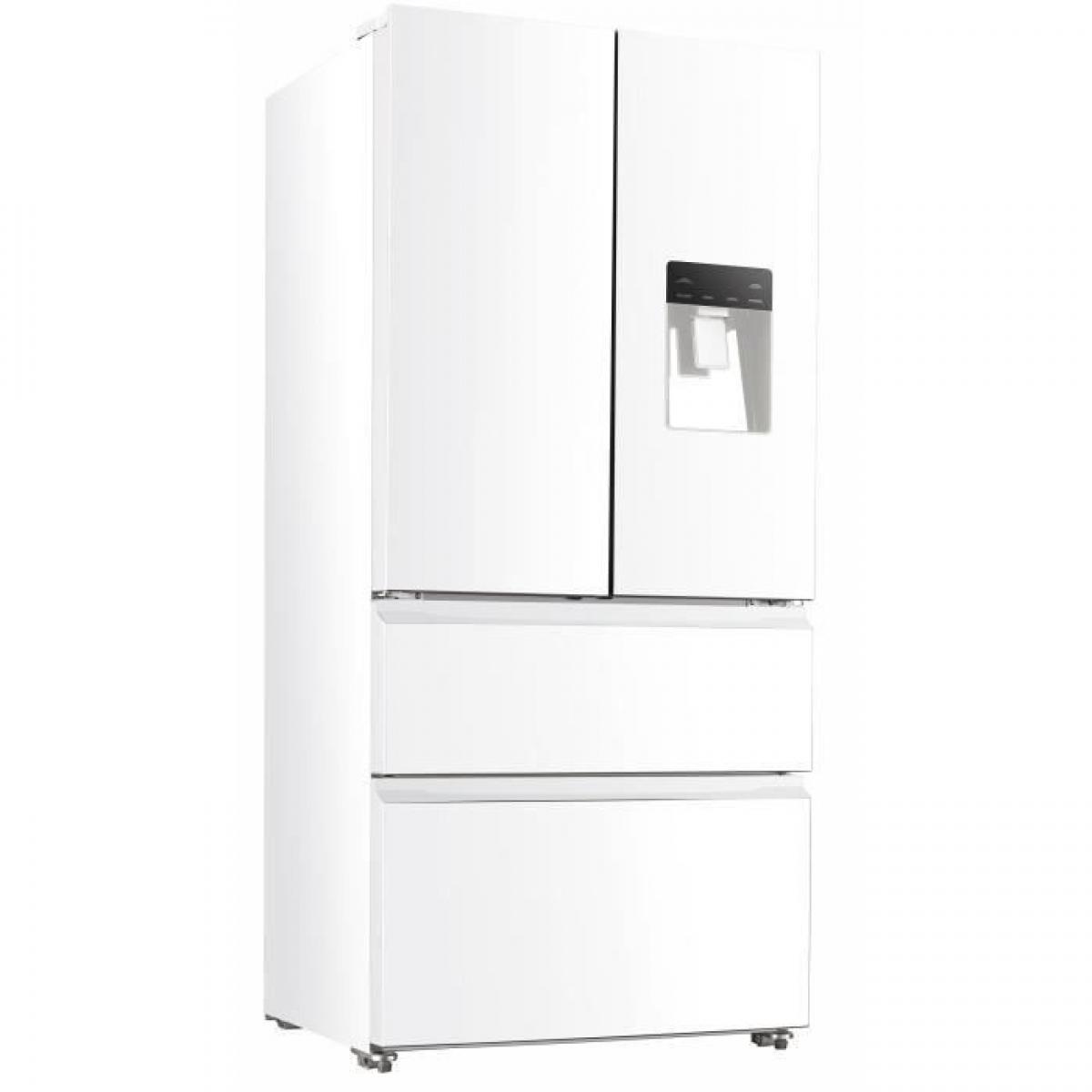 Continental Edison Réfrigérateur multi-portes 536L Froid Ventilé CONTINENTAL EDISON 83cm, CERAF536DW