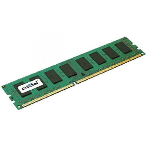 Crucial - CRUCIAL 4 Go DDR3 1600 MHz CL11 - RAM PC Fixe