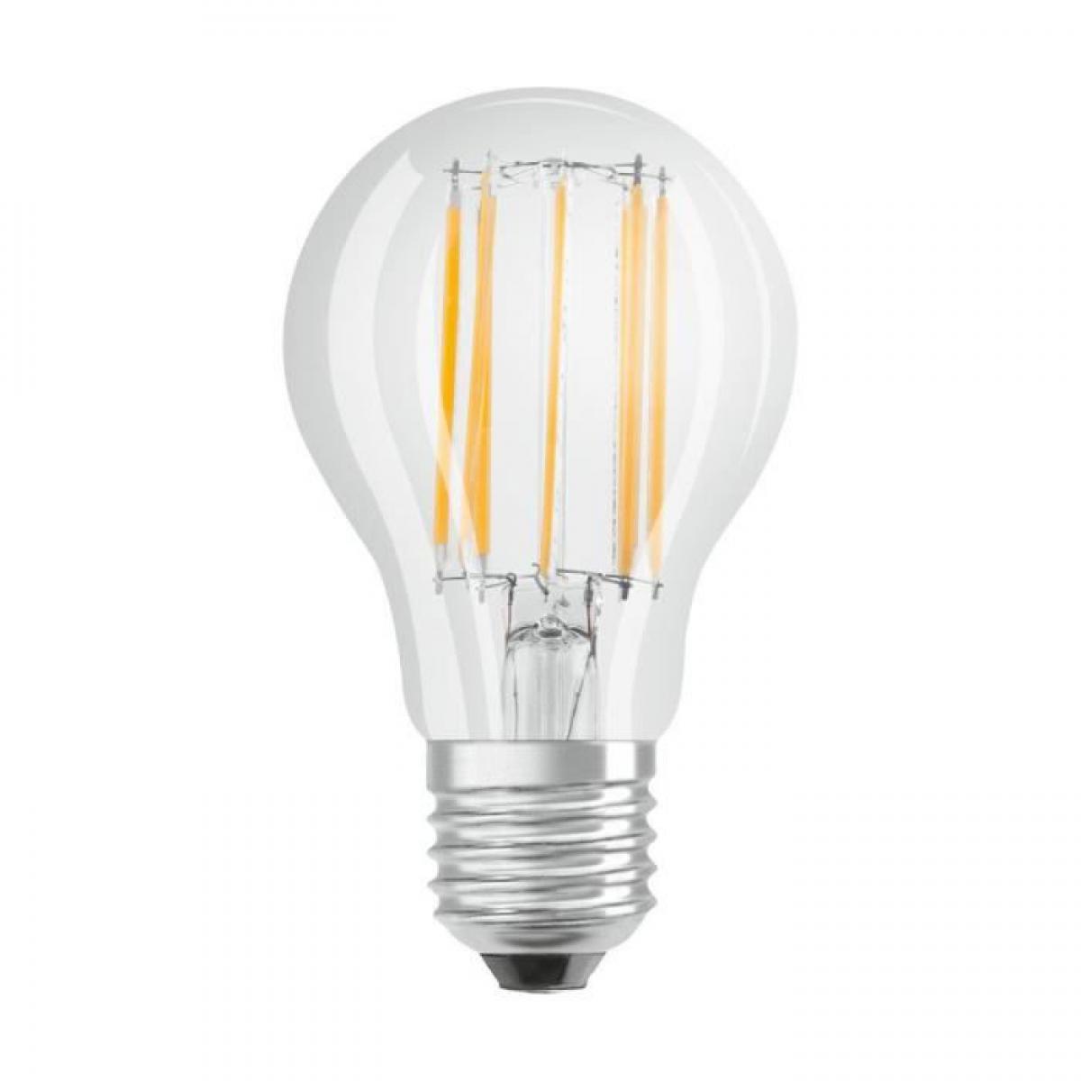 Cstore BELLALUX Lot de 6 Ampoules LED Standard clair filament 11W=100 E27 froid