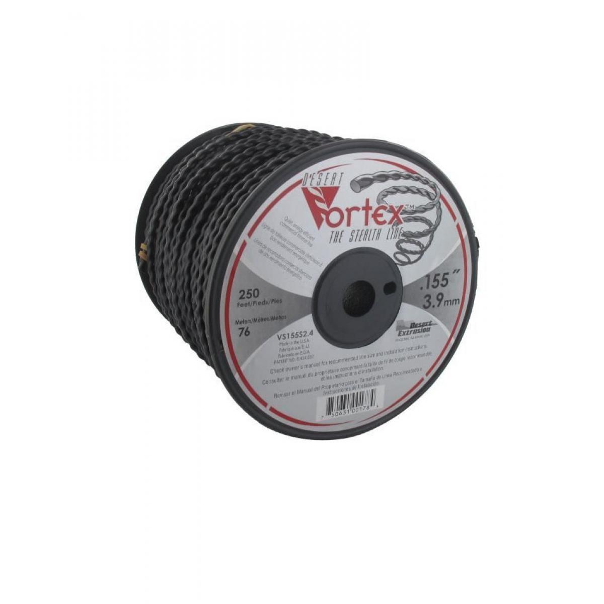 Cstore JARDIN PRATIQUE Bobine fil nylon copolymere VORTEX pour débroussailleuse - Ø 3,9 mm - L 76 m