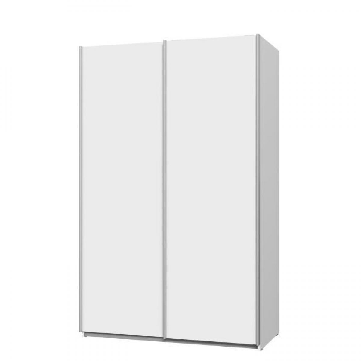 Cstore ULOS Armoire 2 portes coulissantes - Blanc mat