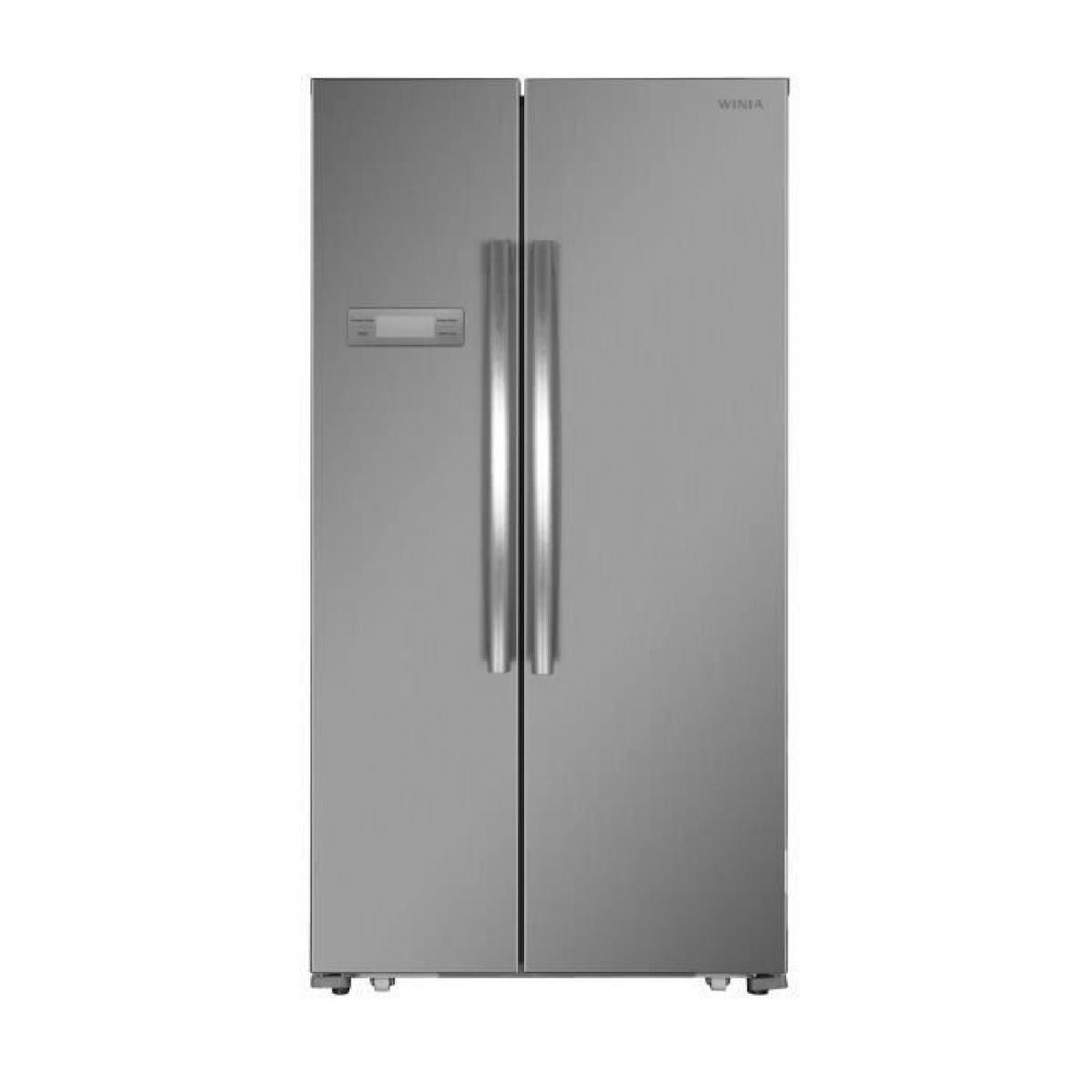 Daewoo Réfrigérateur américain 517L Froid Ventilé DAEWOO 90,5cm A+, WFRN-H540B2X