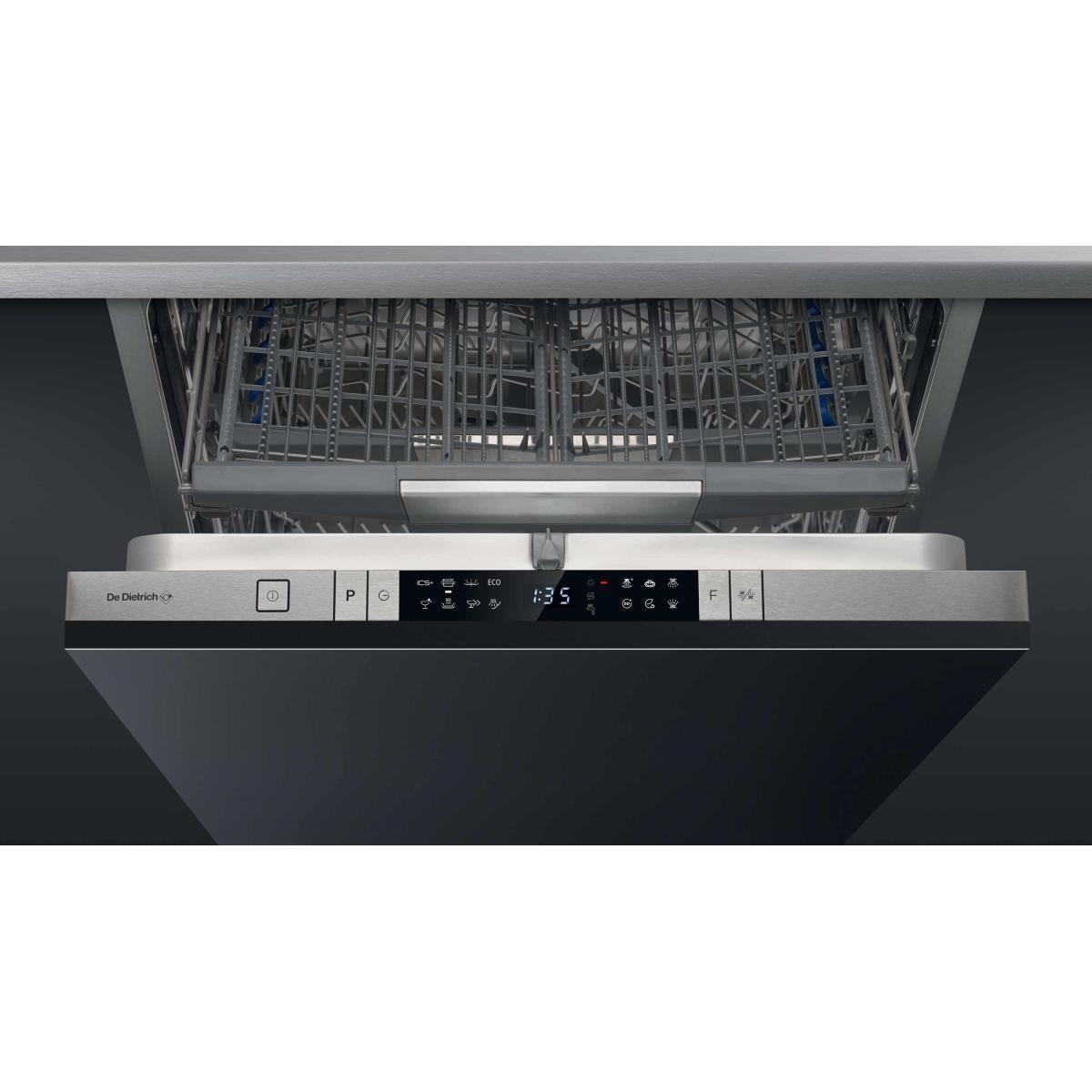 De Dietrich Lave vaisselle tout integrable 60 cm DE DIETRICH DCJ534DQX