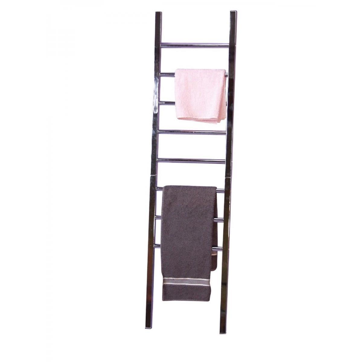 Decoshop26 Porte-serviettes échelle de rangement salle de bain SDB05011