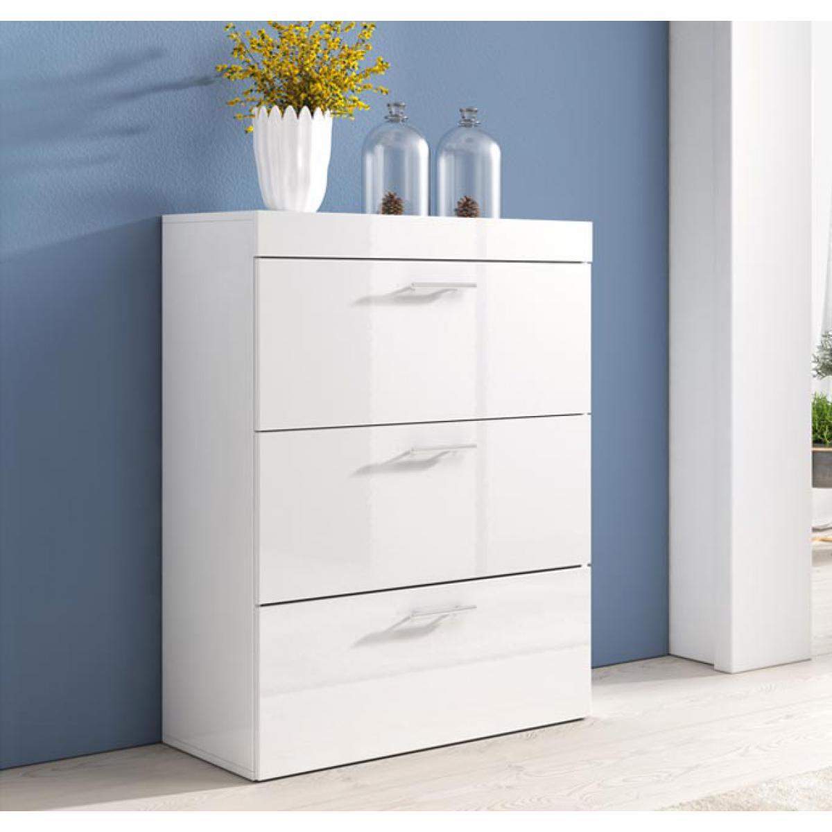 Design Ameublement Commode Dalia en couleur blanc