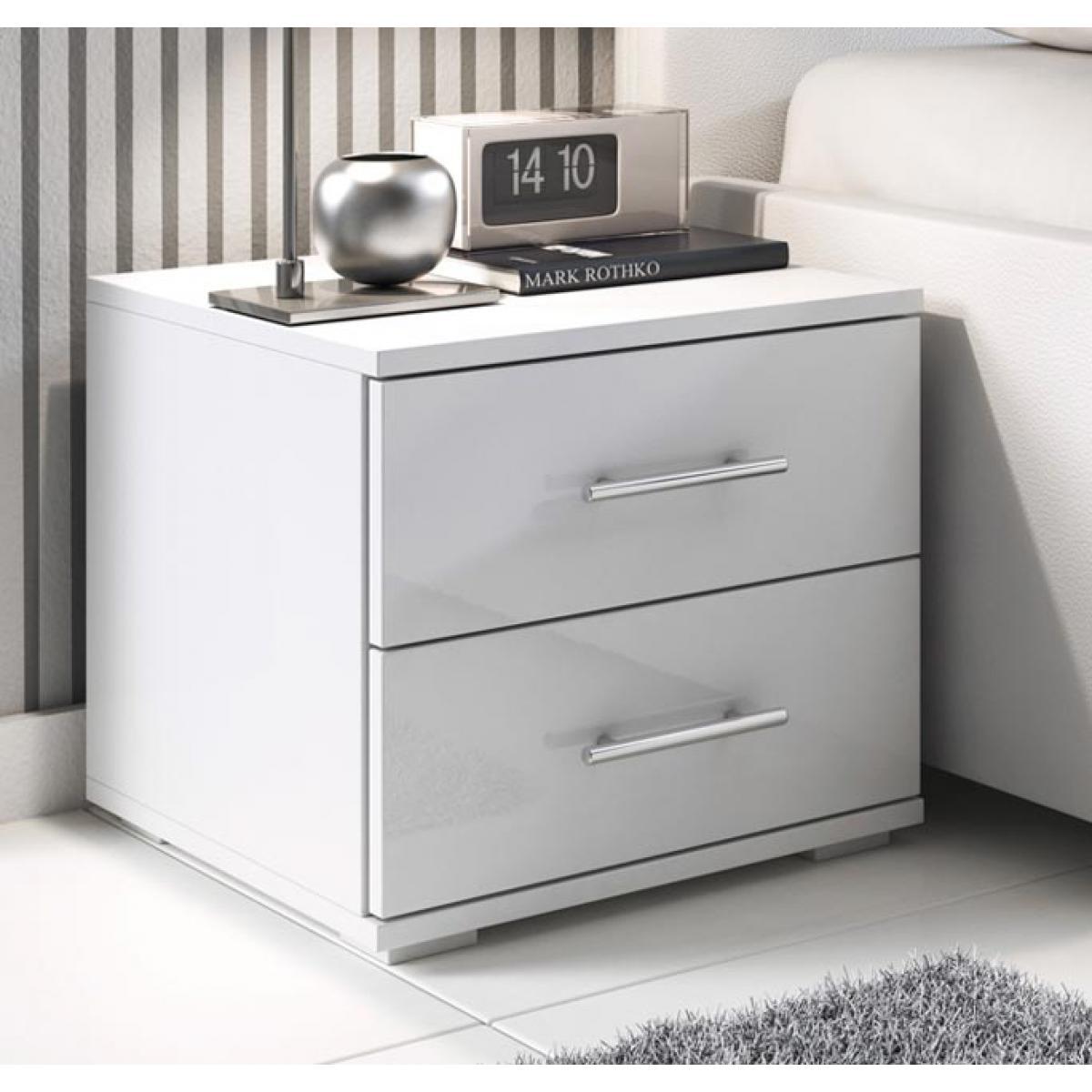 Design Ameublement Table de chevet Beatriz blanc