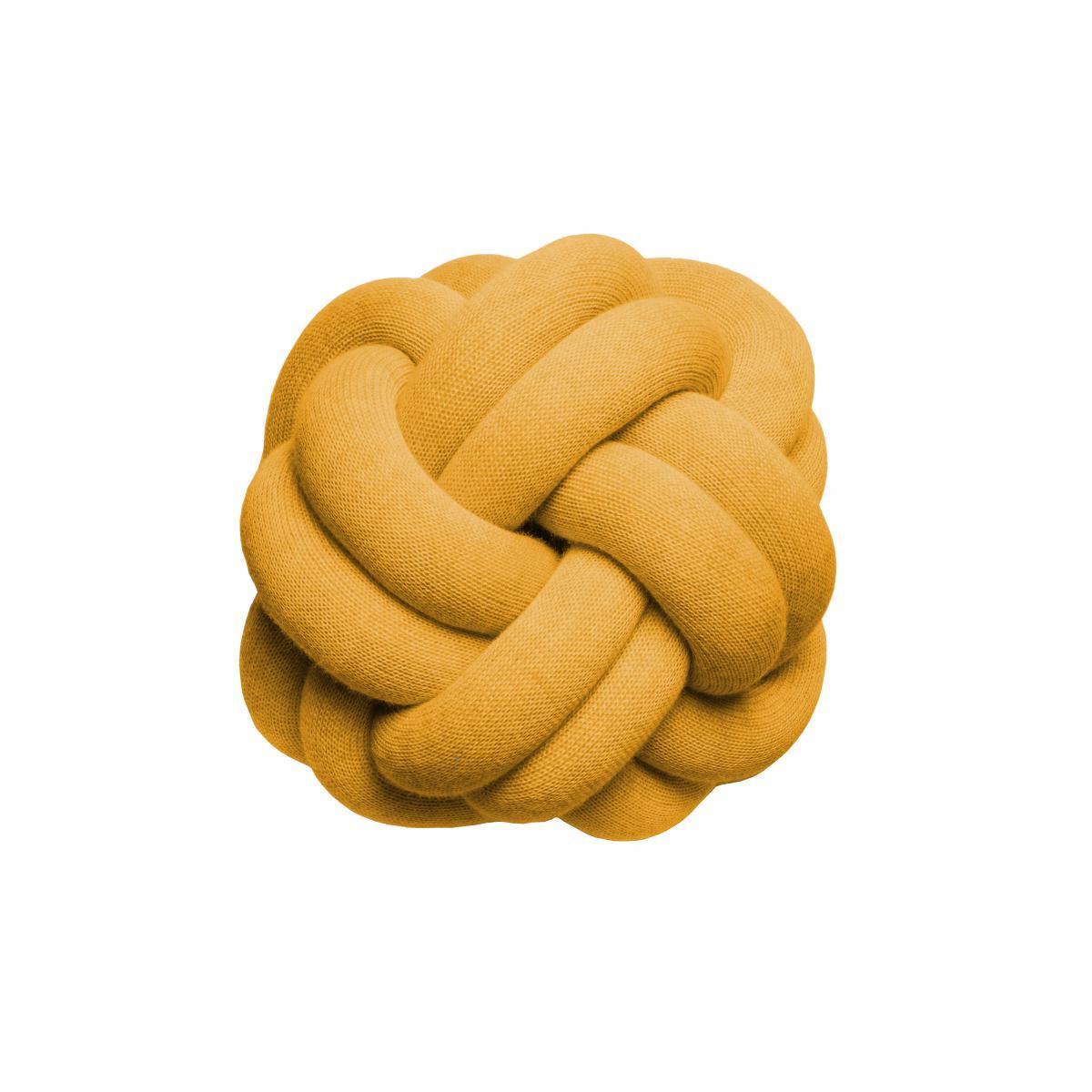 Design House Stockholm Coussin Knot - orange