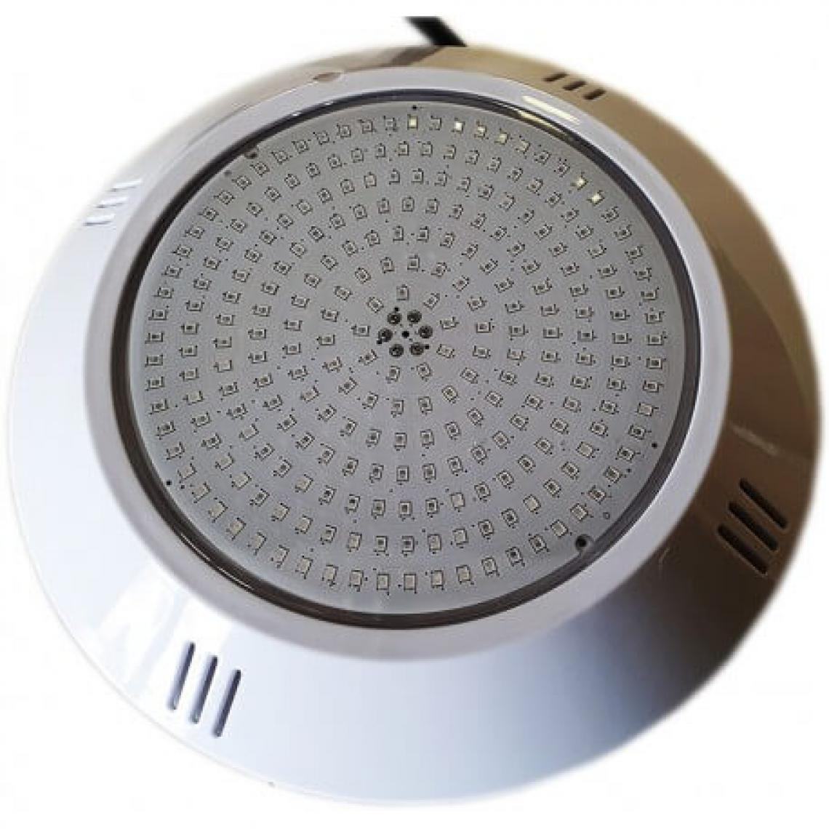 Desineo Projecteur LED étanche blanc extra-plat à résine injectée pour piscine (252 LED)