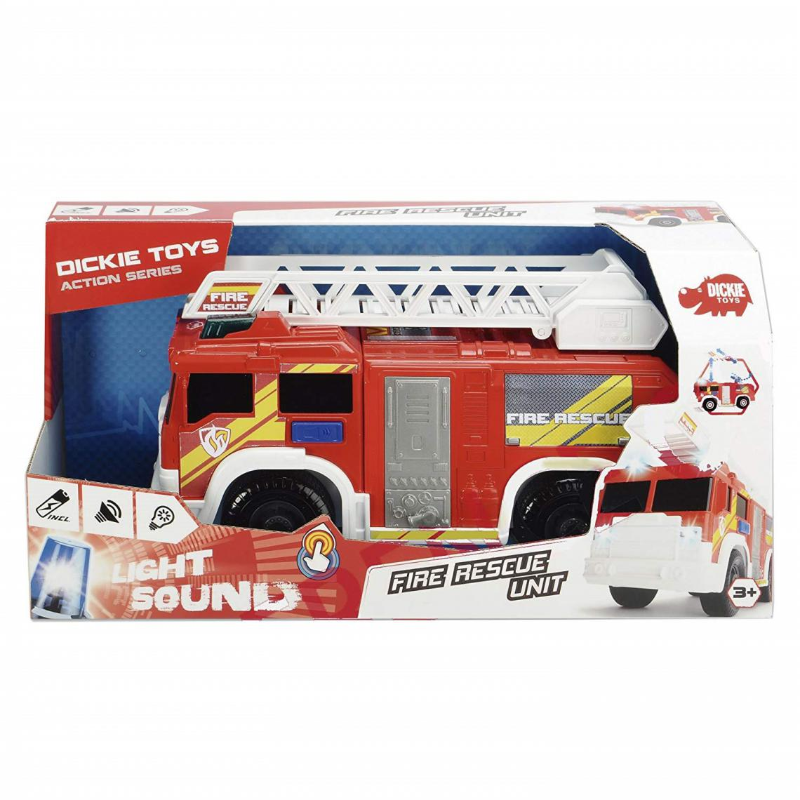 Dickie Dickie 203306000 - Dickie Toys Fire Rescue Unit