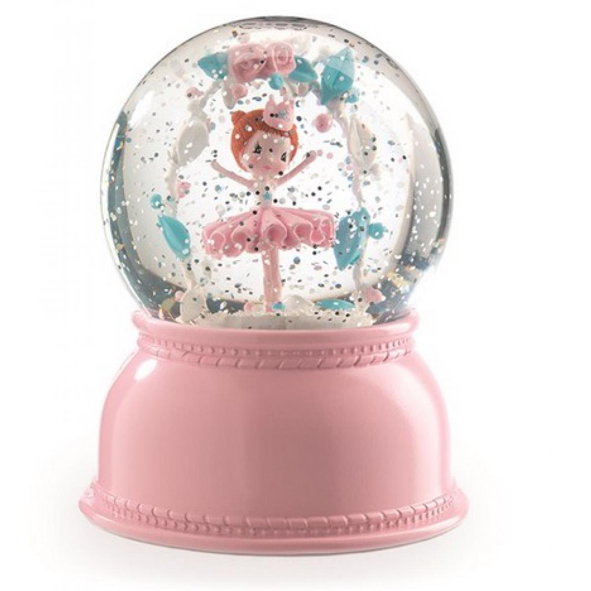 Djeco Veilleuse boule de neige Ballerine