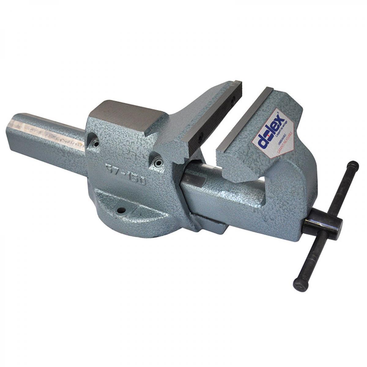 Dolex Dolex - Etau réglable fixe en acier 150 mm ouverture 240 mm série 50