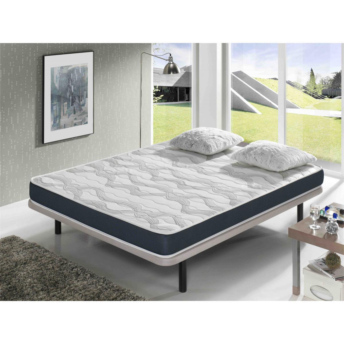 Dormalit Matelas 160X190 ERGO CONFORT Épaisseur 14 CM ? Rembourrage super soft - Juvénil - idéal pour les lits gigognes