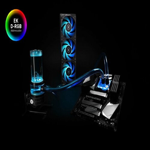 Ek Water Blocks - EK-Quantum Power Kit D-RGB P360 Kit complet - Watercooling