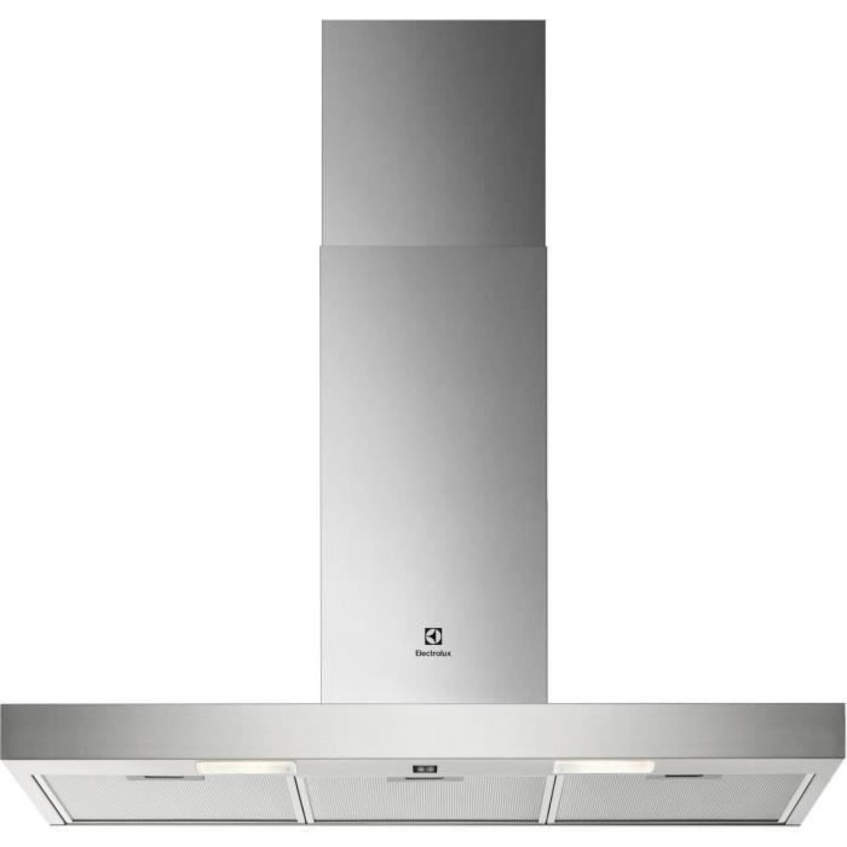 Electrolux Hotte décorative 600 (max)m³/h ELECTROLUX 90cm C, ELEEFT39X
