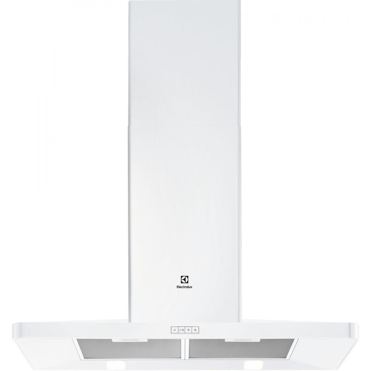 Electrolux Hotte décorative 603m³/h ELECTROLUX 90cm A, EFF 90462 OW