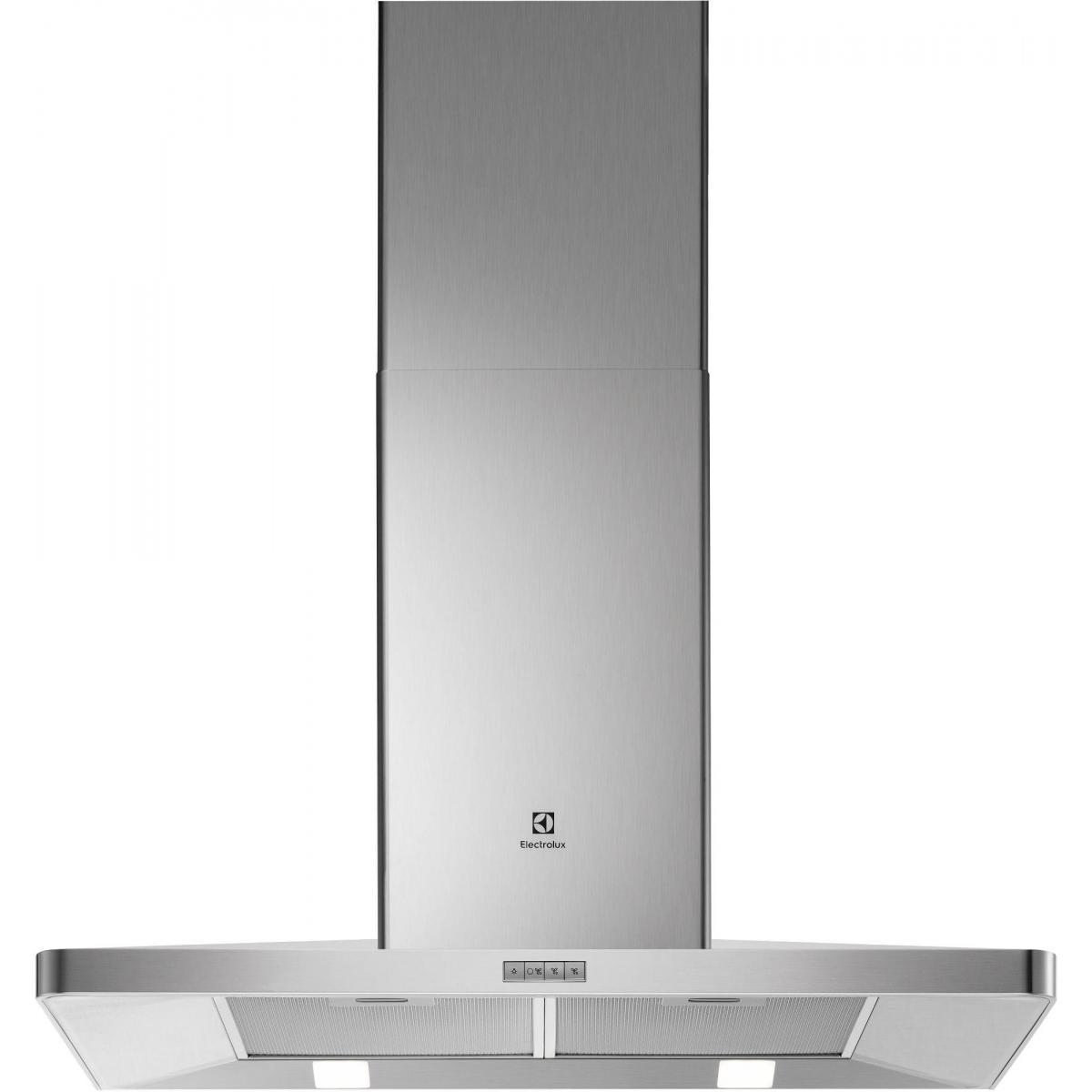 Electrolux Hotte décorative 603m³/h ELECTROLUX 90cm A, EFF 90462 OX