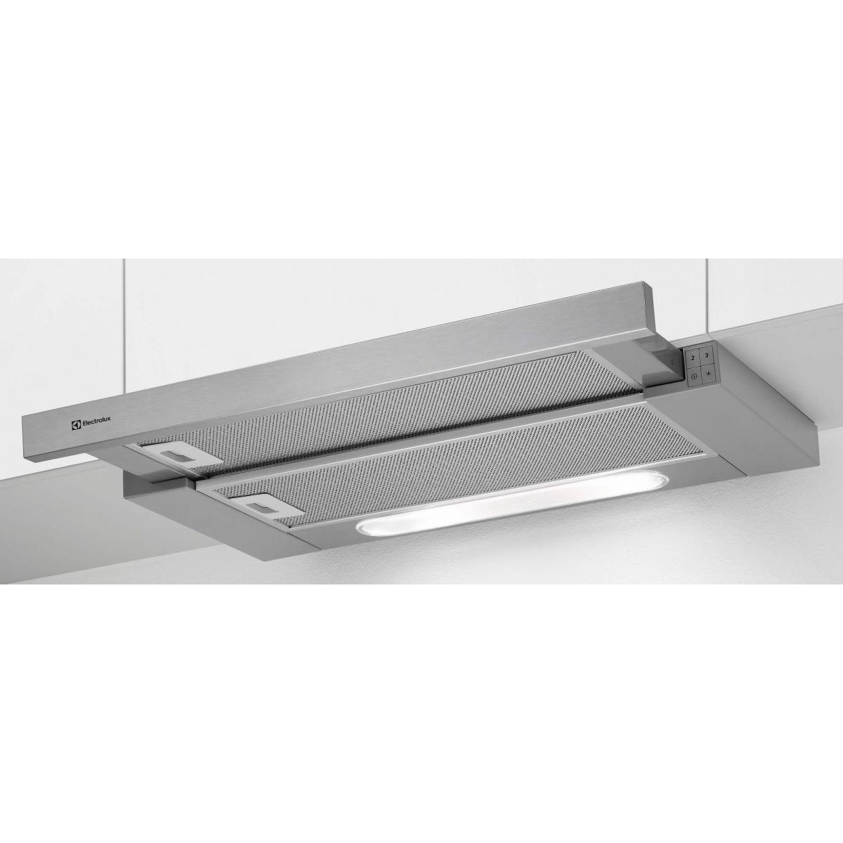 Electrolux Hotte tiroir 603m³/h ELECTROLUX 59.8cm A, 1033210