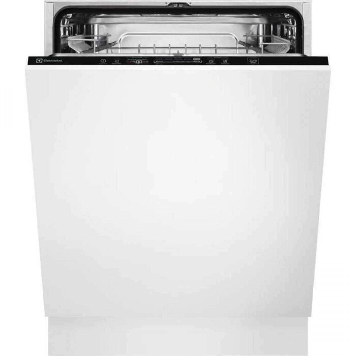 Electrolux Lave-vaisselle tout intégrable ELECTROLUX EEQ47225L - 13 couverts - Largeur 60 cm - Classe A++ - 44dB