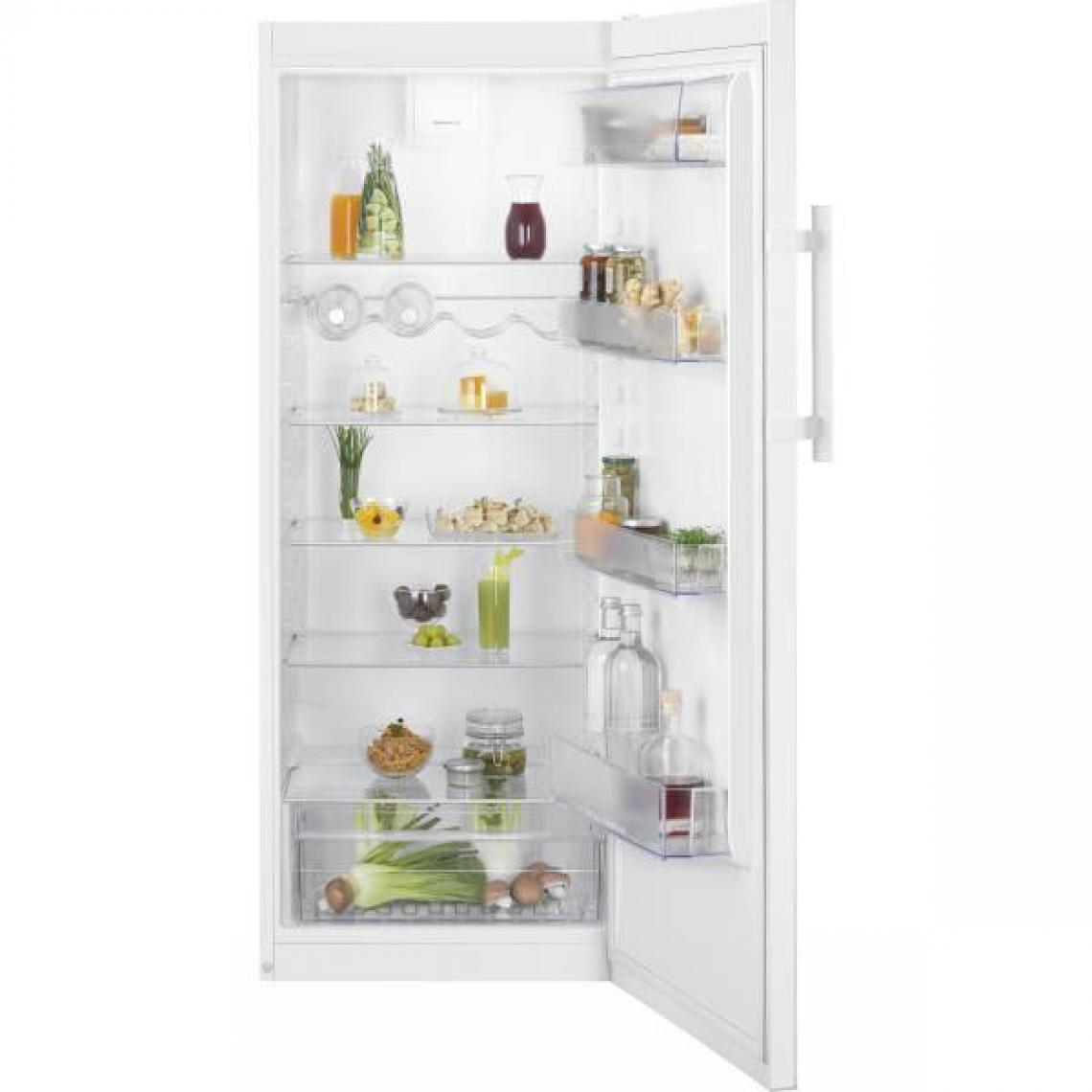 Electrolux Réfrigérateur 1 porte 314L Froid Brassé ELECTROLUX 60cm A+, LRB1DF32W