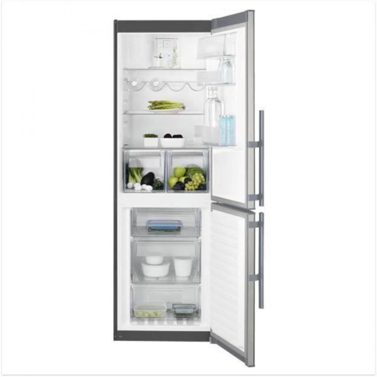 Electrolux Réfrigérateur combiné 311L Froid Ventilé ELECTROLUX 60cm A+, ELE7332543729197