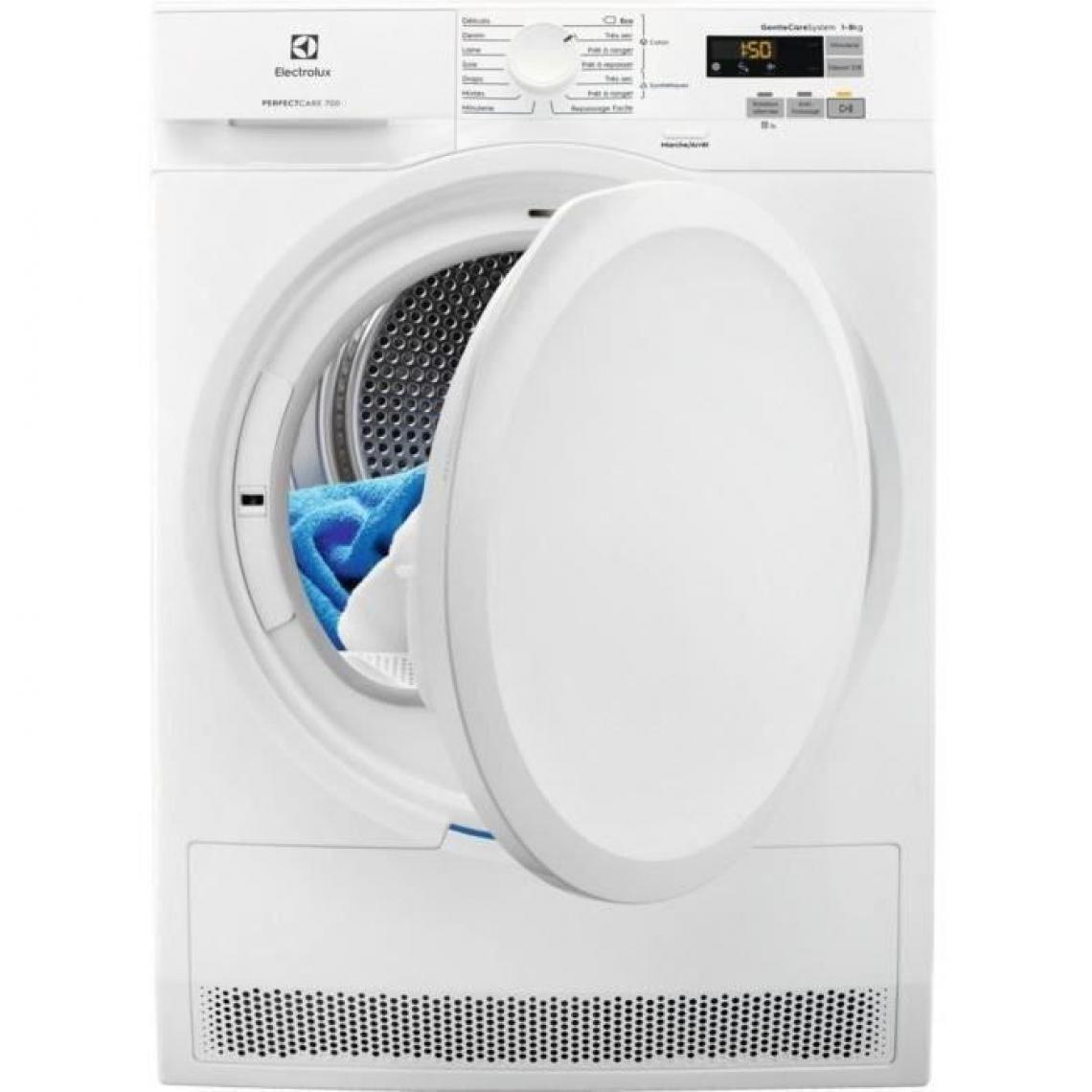 Electrolux Sèche-linge à condensation 8kg ELECTROLUX 60cm, ELE7332543707034
