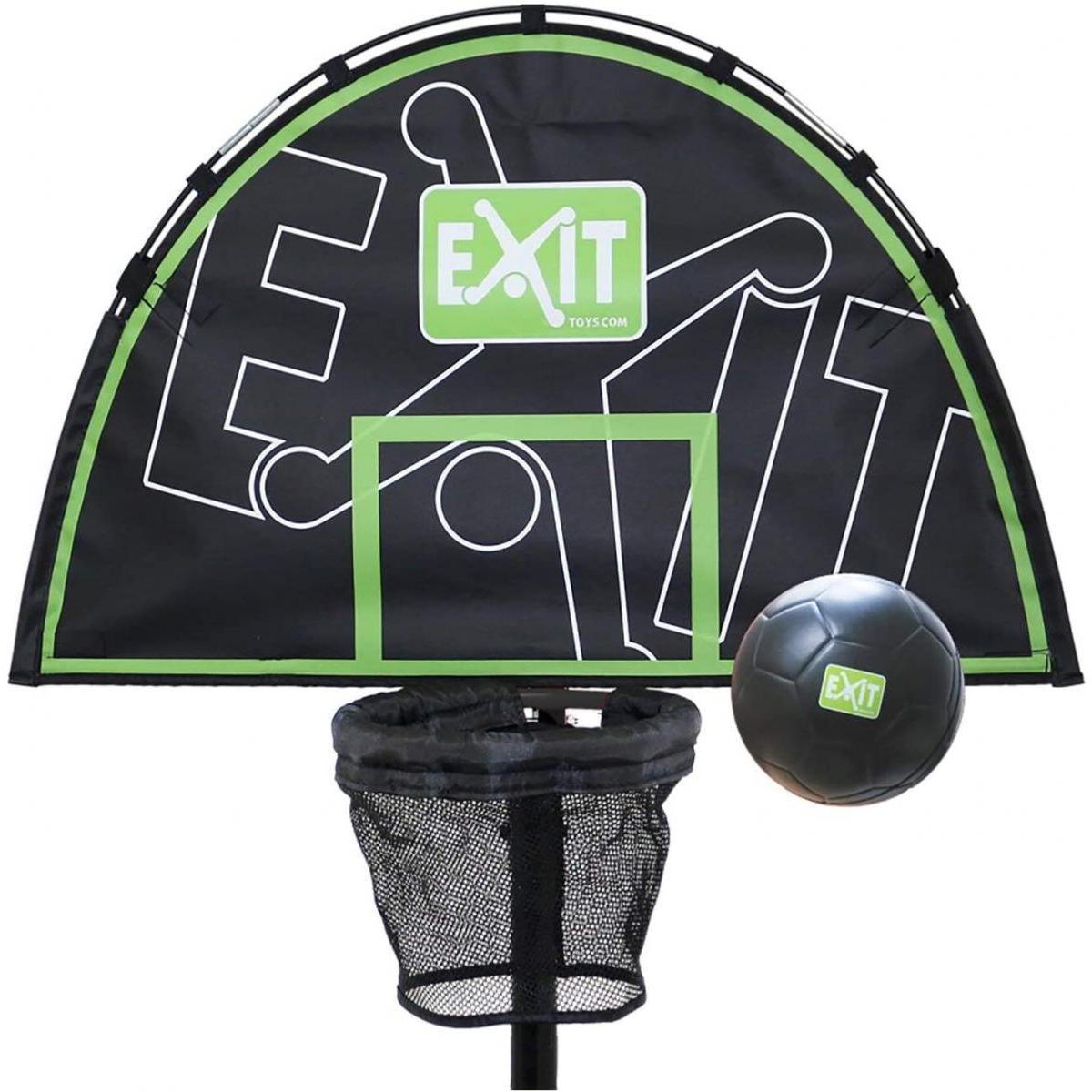 Exit EXIT panier de basket+ mini ballon en mousse pour Trampoline