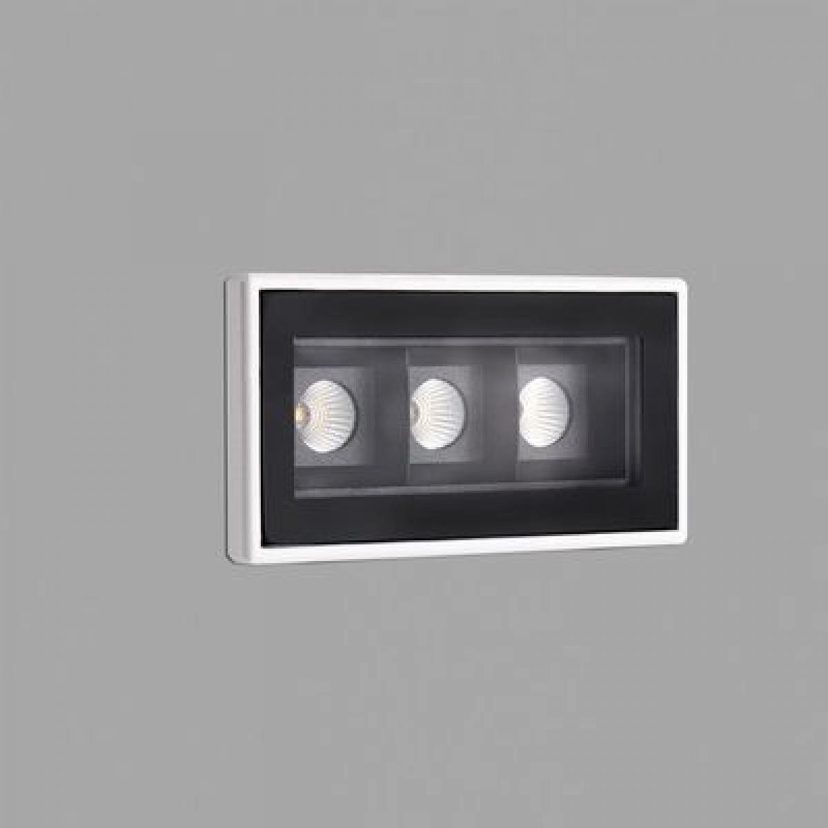Faro Encastrable Troop Blanc 3x2W LED