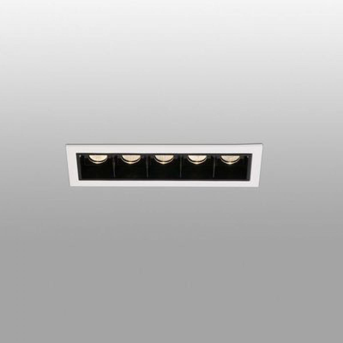 Faro Encastrable Troop Blanc 5x2W LED