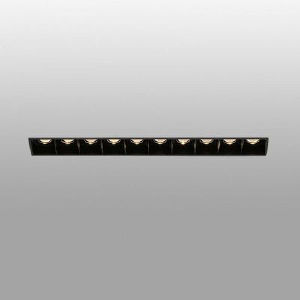Faro Encastrable Troop Noir 10x2W LED
