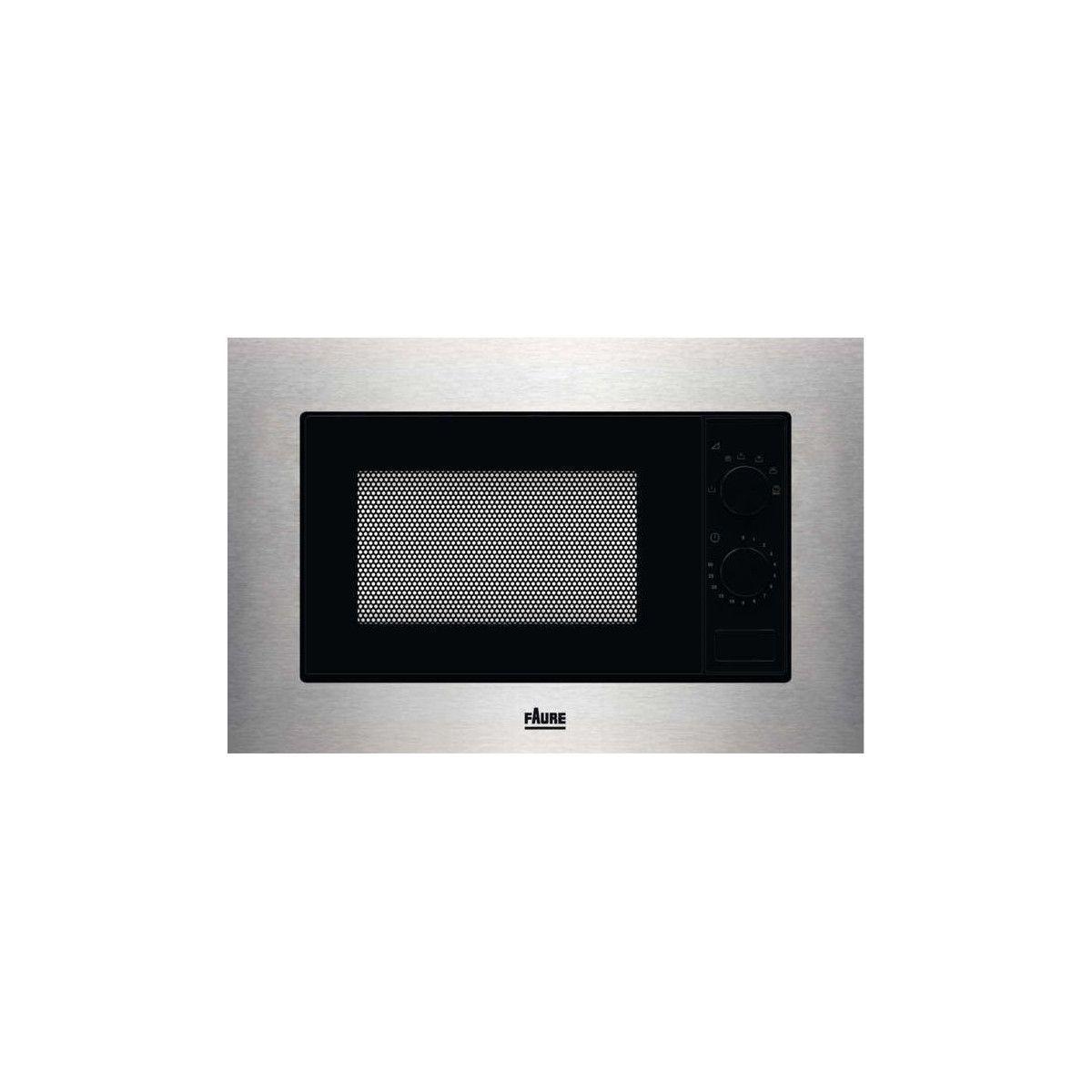 Faure Micro-ondes Encastrable 17l Faure 1200w 60cm, Fmsn 5 Sx