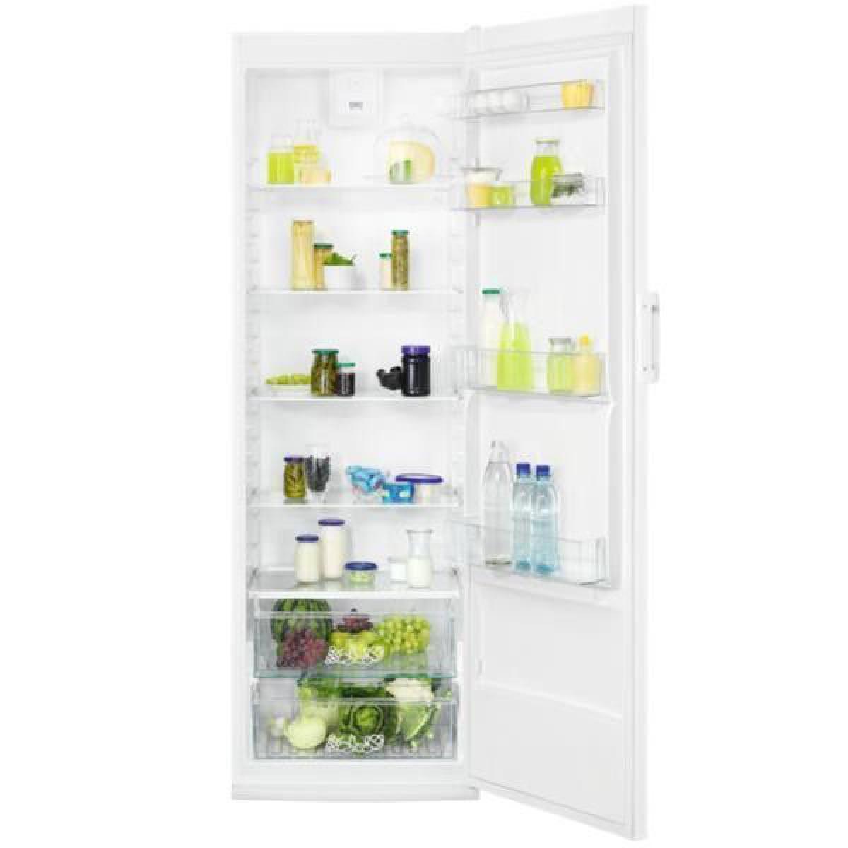Faure Réfrigérateur 1 porte 387L Froid Brassé FAURE 64cm A+, FRDN39FW