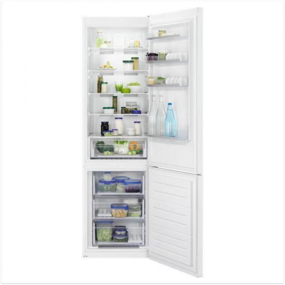 Faure Réfrigérateur combiné 250L Froid Ventilé FAURE 60cm A+, FAU7332543736362