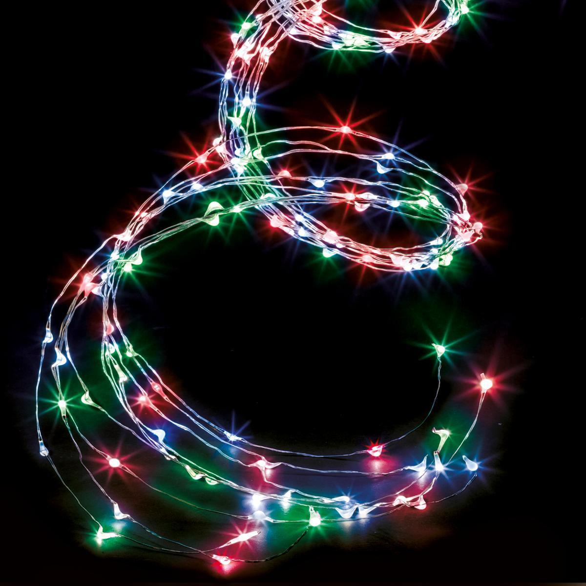 Feeric Christmas Cascade Extérieur Copper Lux Multicolore - Feeric Christmas
