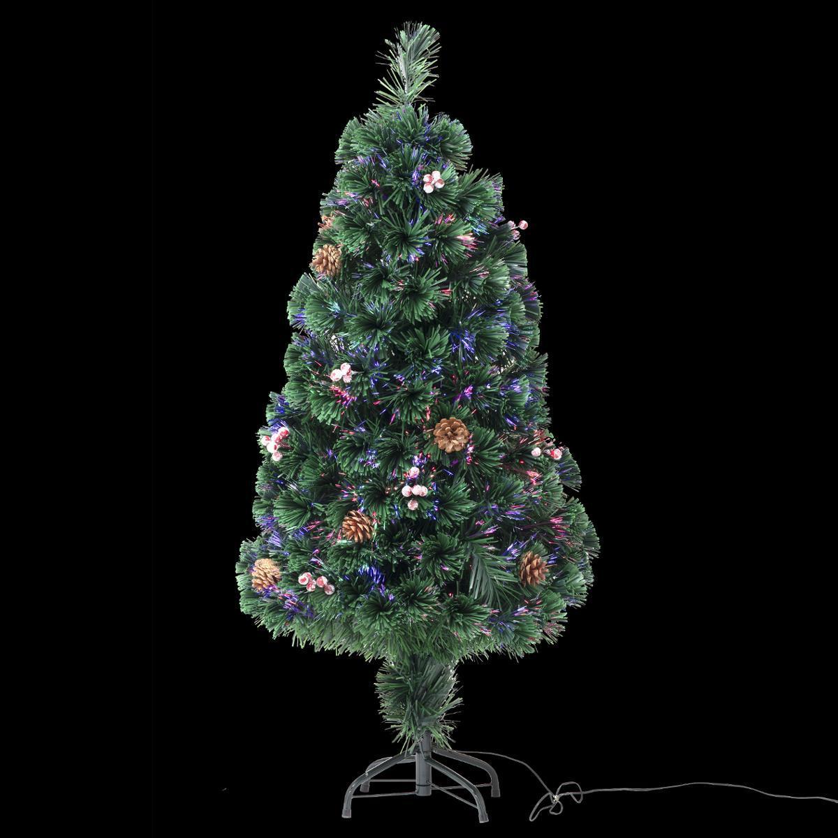 Feeric Christmas Sapin de Noël artificiel fibre optique Vienna 120 cm - Fééric Christmas