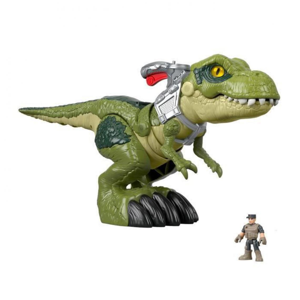 Fisher Price FISHER-PRICE Imaginext Jurassic World Redoutable T-Rex Mega Machoire - 3 ans et +