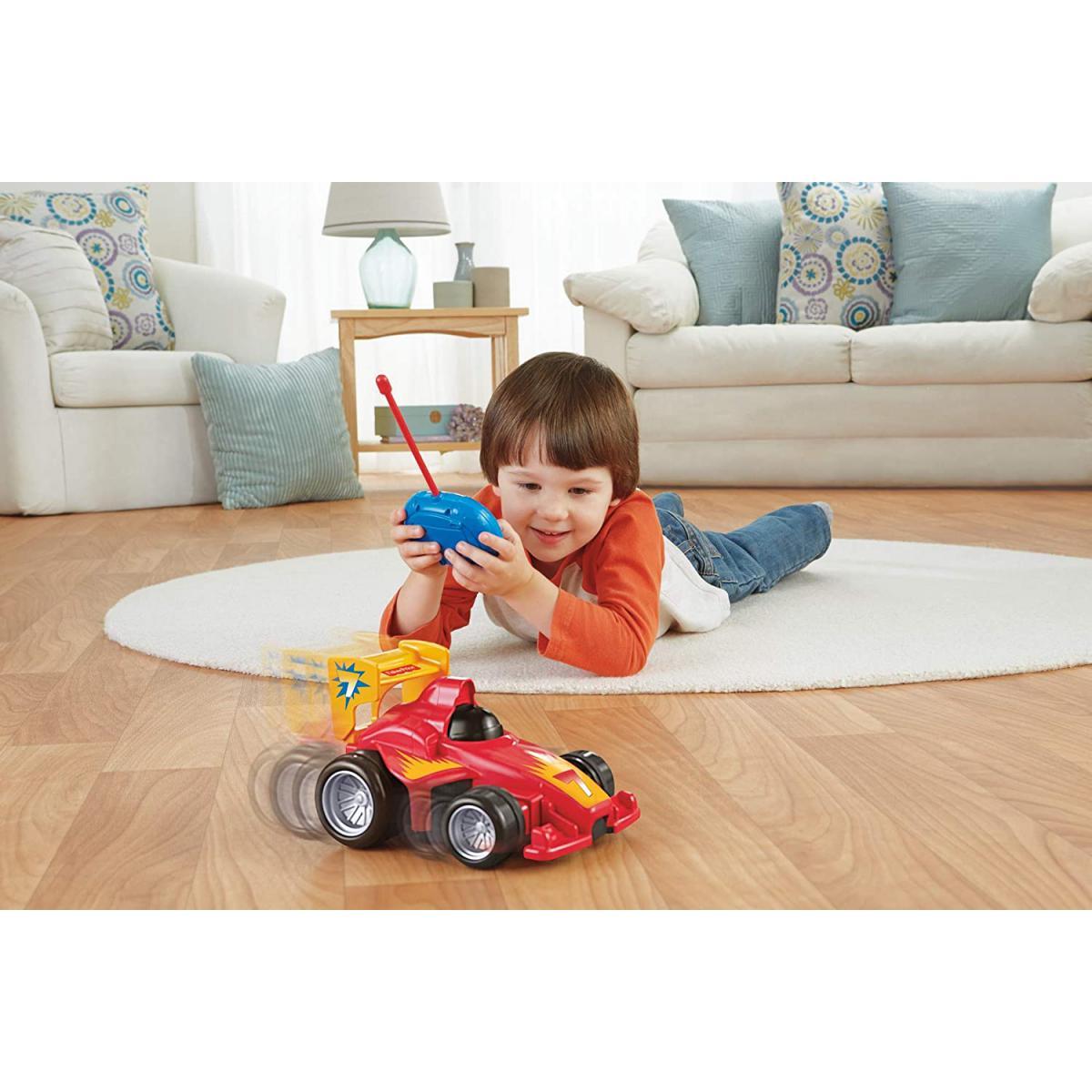 Fisher Price mon Premier Bolide voiture Télécommandé avec 2 vitesses pour enfants de 3 à 7 ans