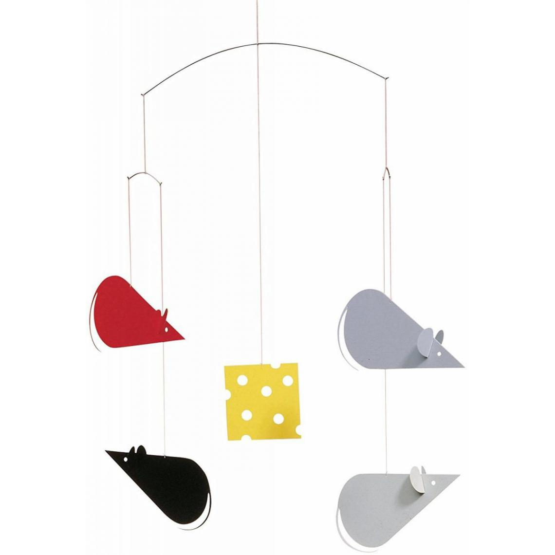 Flensted Flensted Mobiles Cheesemice rouge/gris