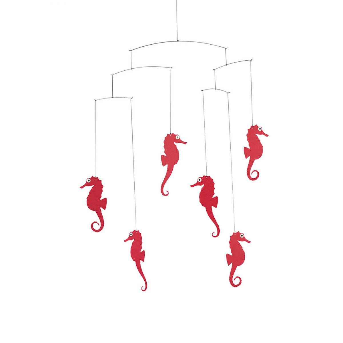 Flensted Flensted Mobiles Hippocampes Rouges