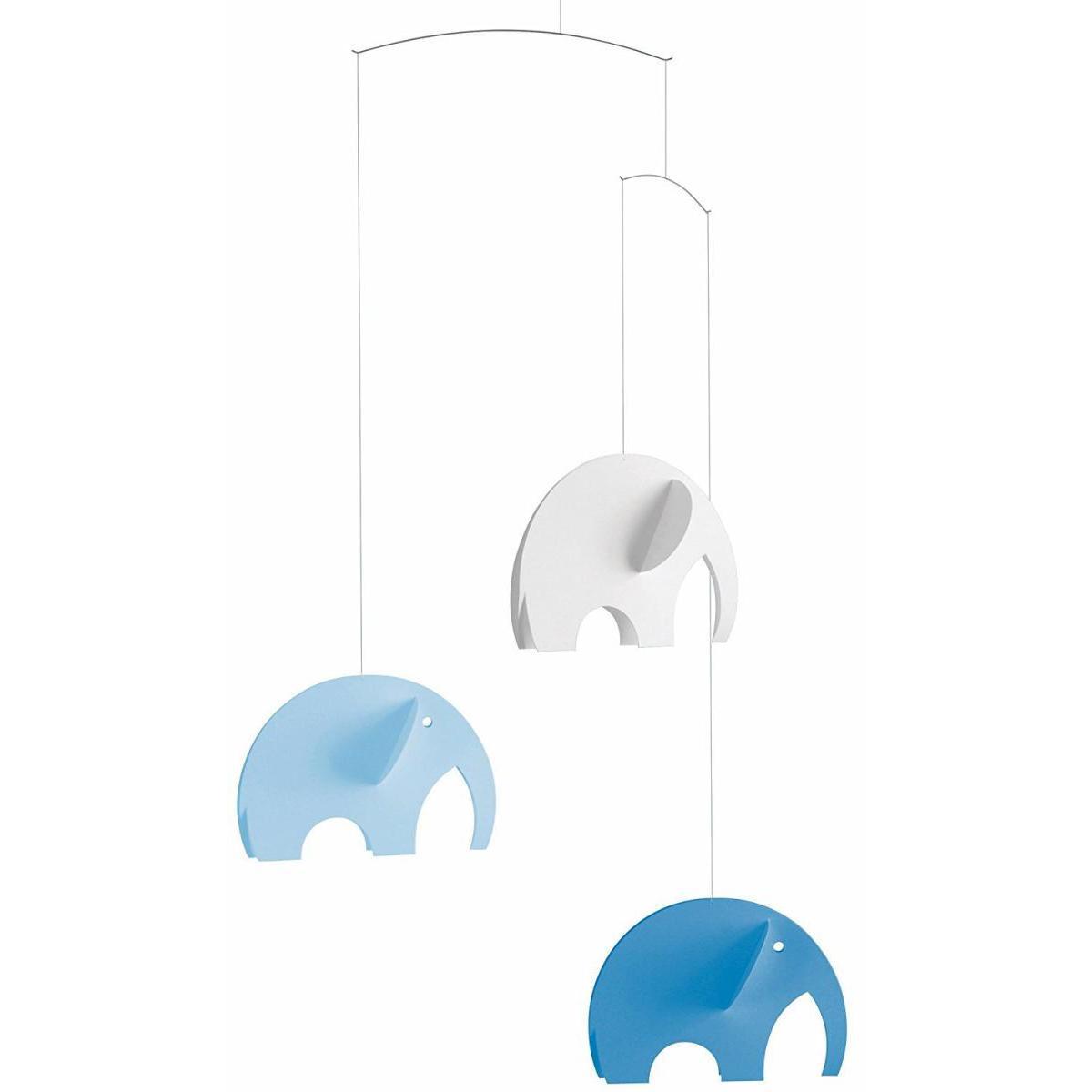 Flensted Flensted Mobiles Olephants Bleu