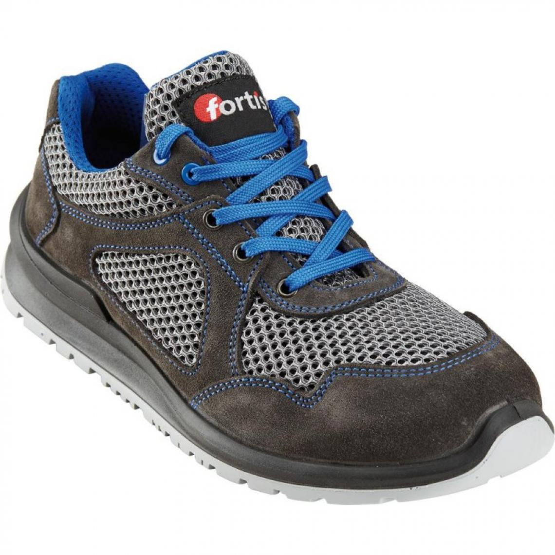 Fortis Chaussures basses Dain S1P, T.42,turq., FORTIS