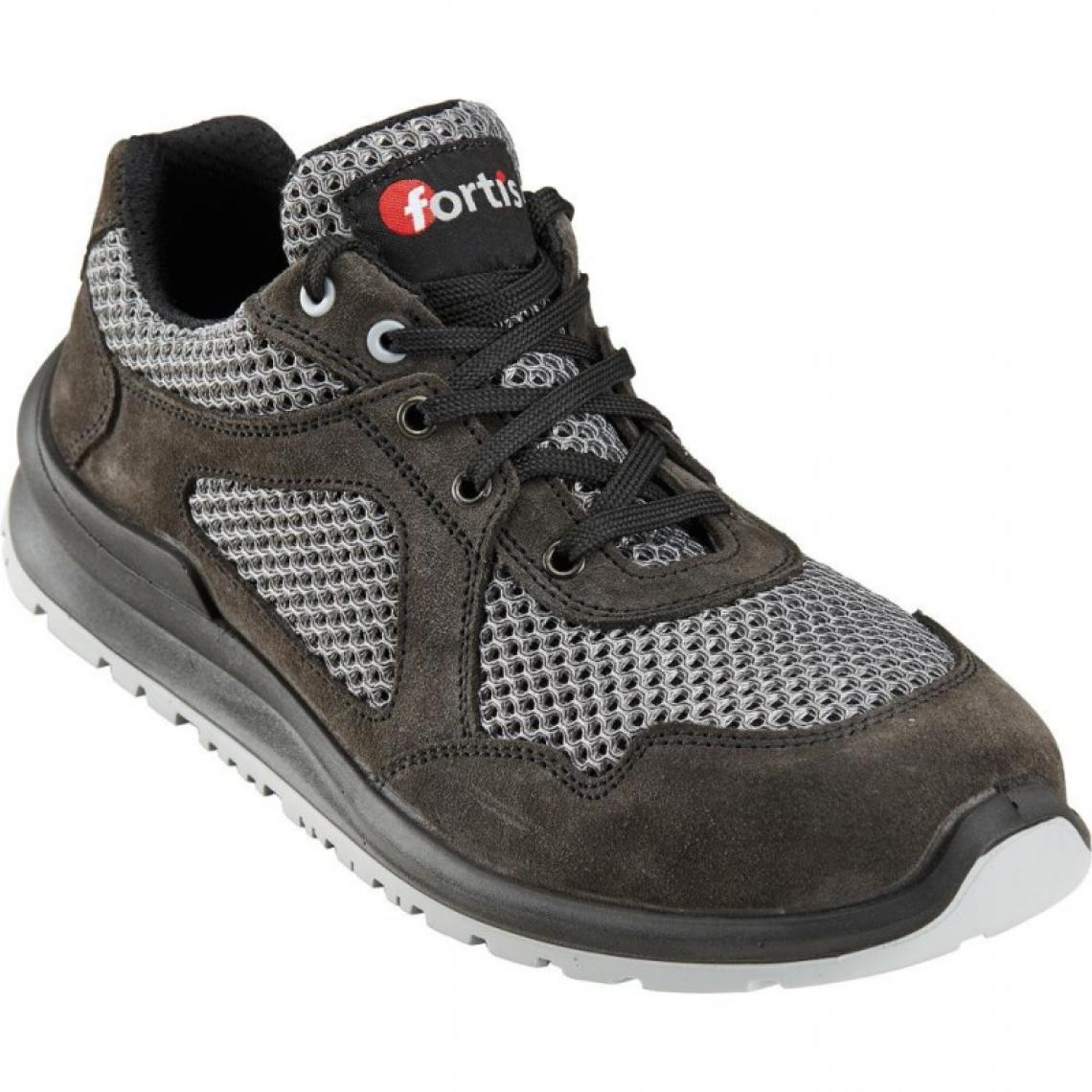 Fortis Chaussures basses Gunnar S1P, T.45,gris, FORTIS