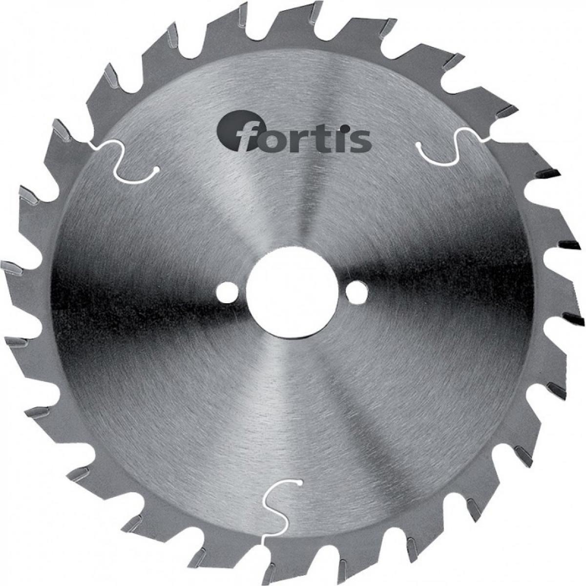 Fortis HW-Lame scie 160x2,4 x20mm Z20W Fortis
