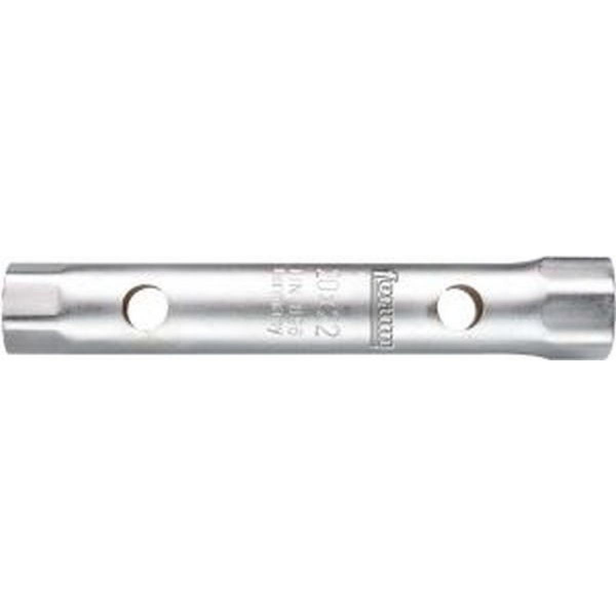 Forum Clé tube, Cote s/plats : 46 x 50 mm, Long. 245 mm, Pour Ø de broche 20 mm