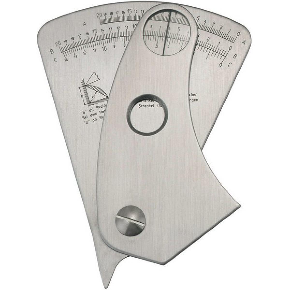 Forum Jauge pour cordon de soudure en acier inoxydable, Précision : 0,1 mm